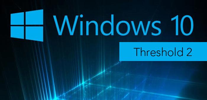 A Windows 10 Threshold 2 a hírek szerint november 2-án érkezik